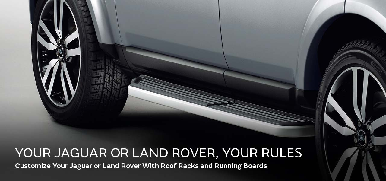 Your Land Rover. Your Rules.