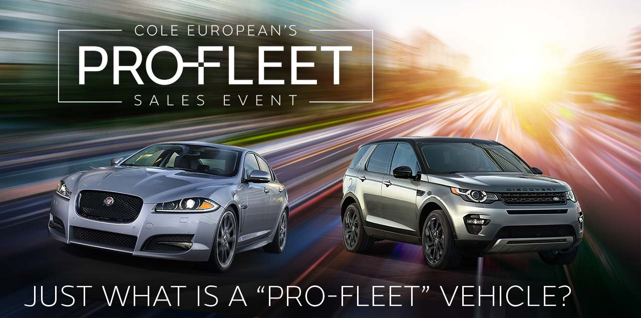 "Just What Is a ""Pro-Fleet"" Vehicle?"