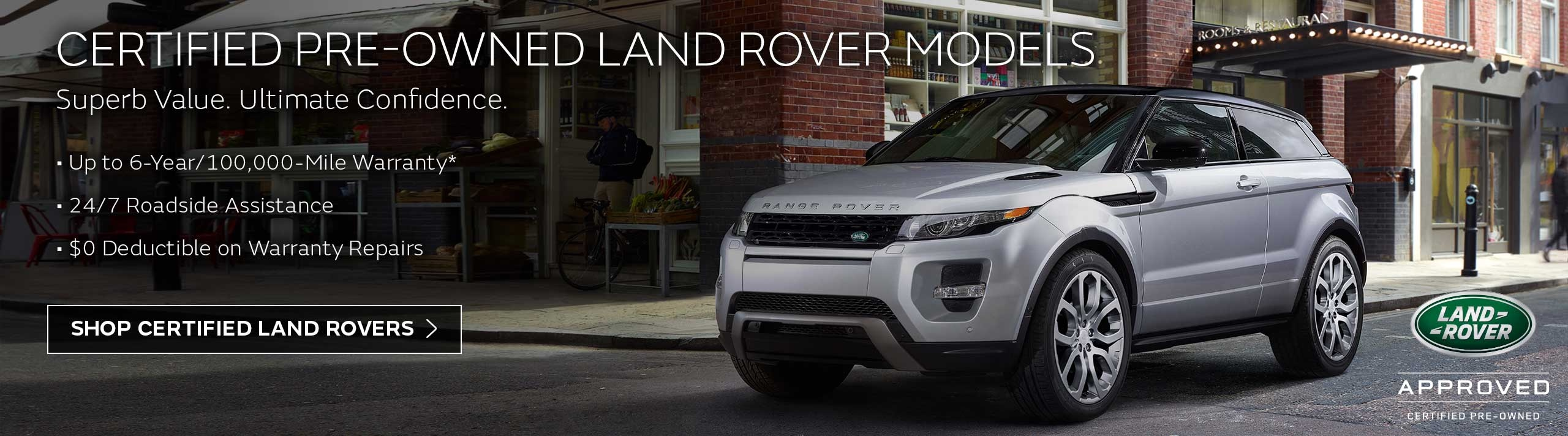 Certified Pre-Owned Land Rovers