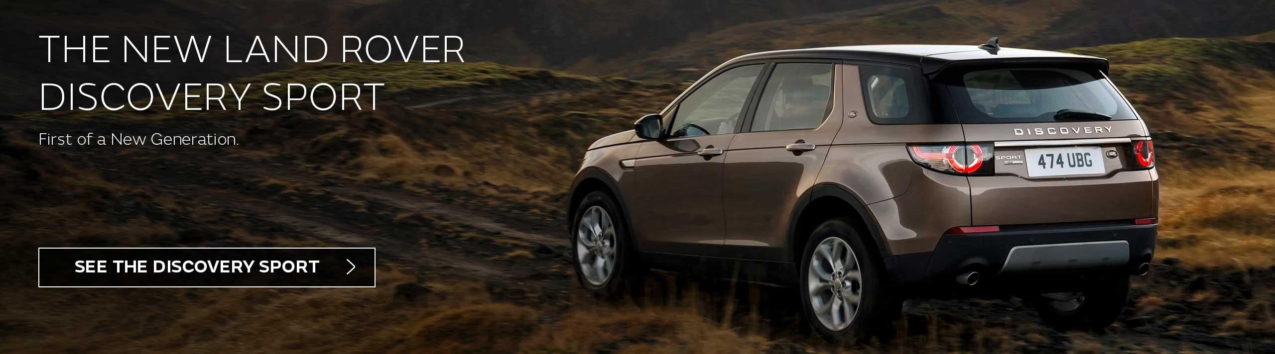 Land Rover Discovery Sport at Cole European